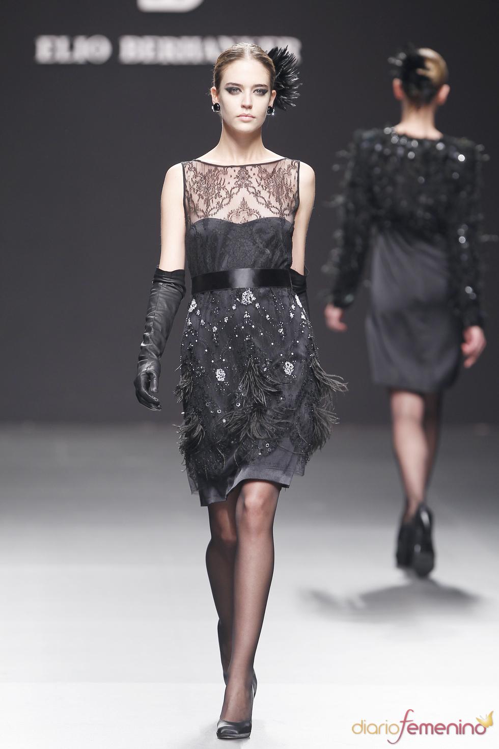 Elio Berhanyer: traje elegante negro