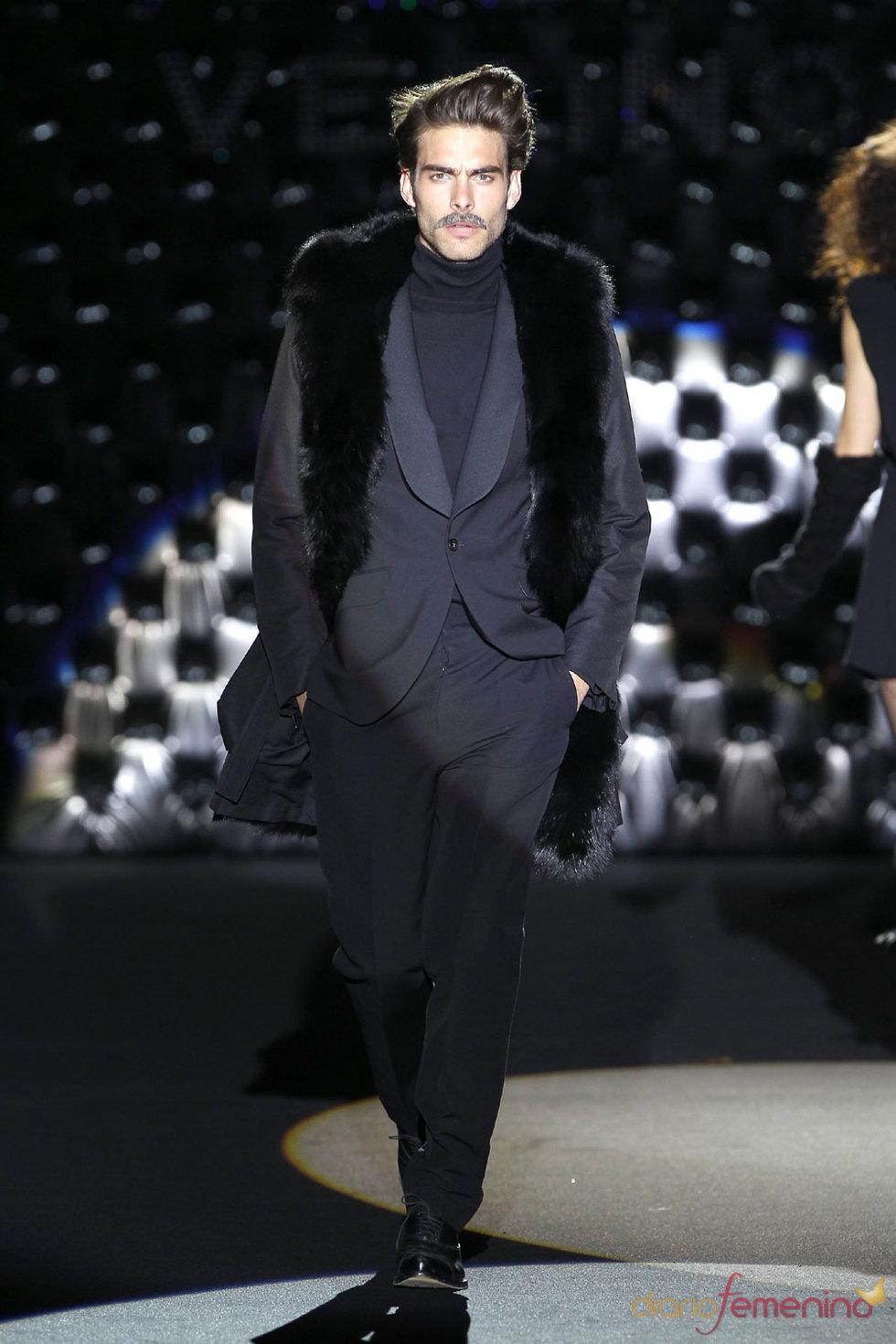 Moda masculina de Roberto Verino en la Pasarela Cibeles 2010