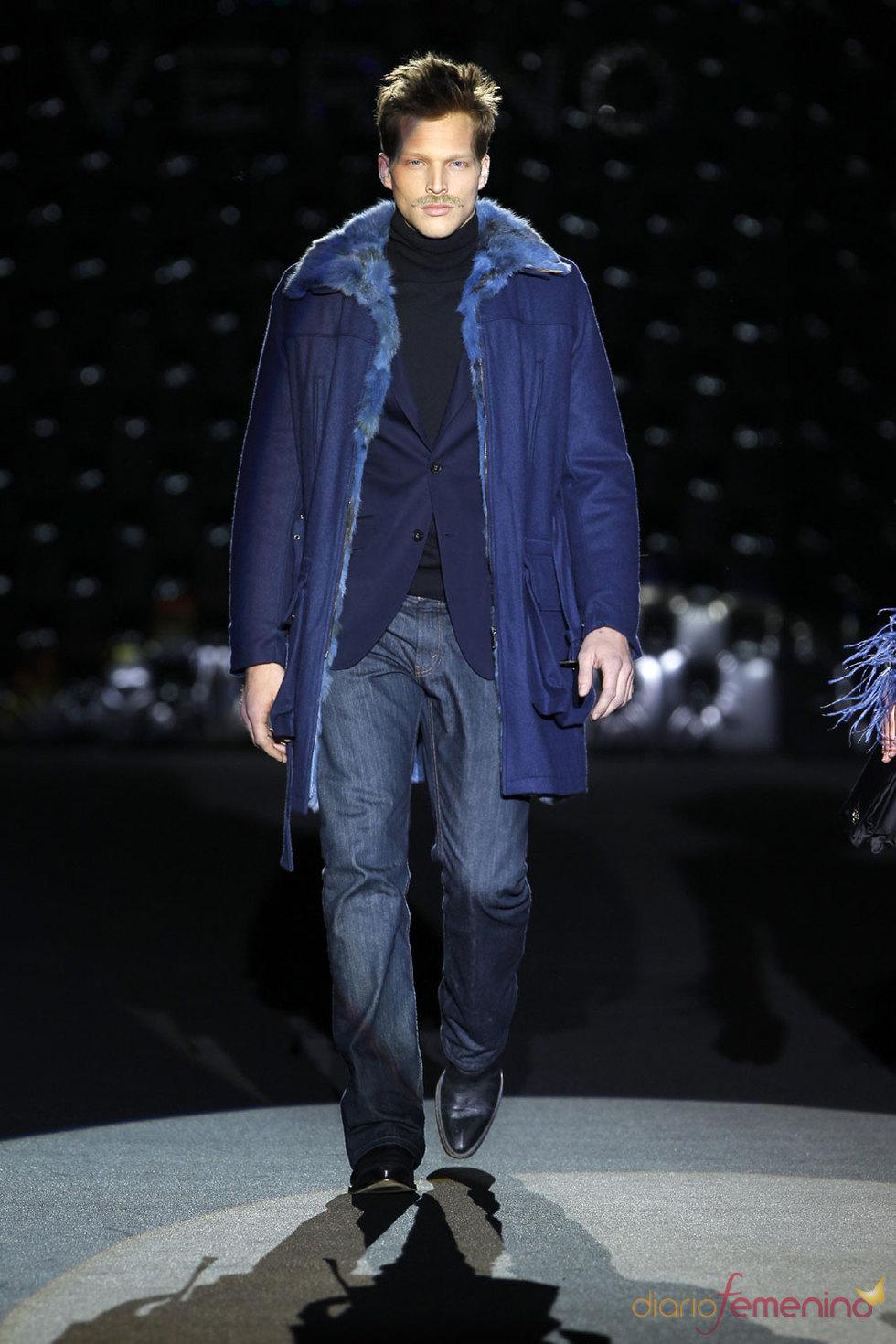 La elegancia y sobriedad de la moda masculina de Roberto Verino