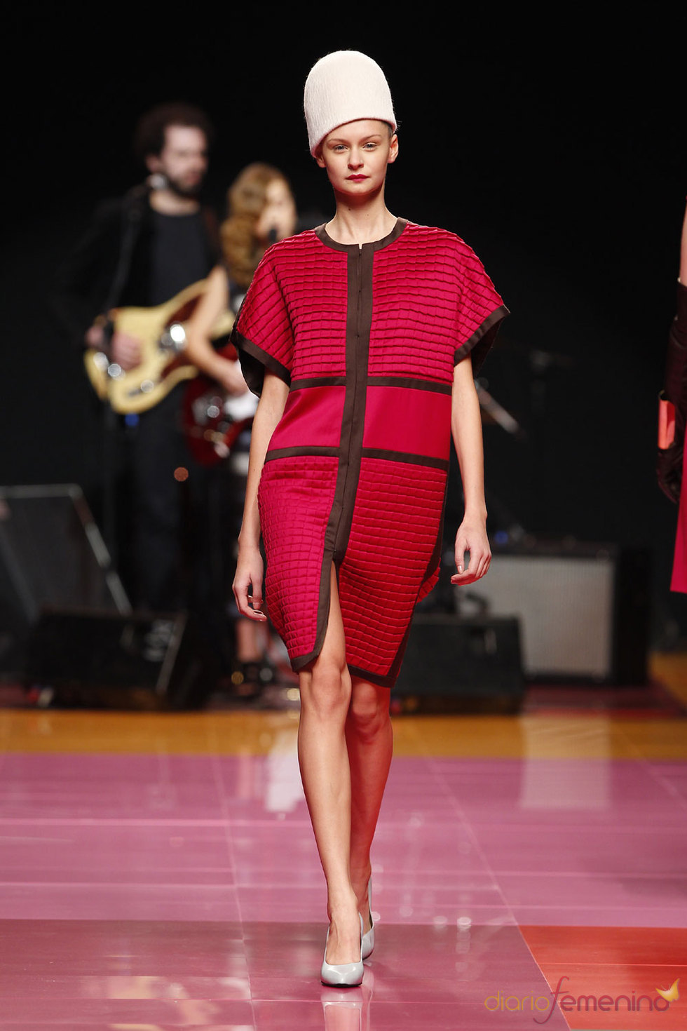 Duyos en rojo -  Cibeles Fashion Week 2010