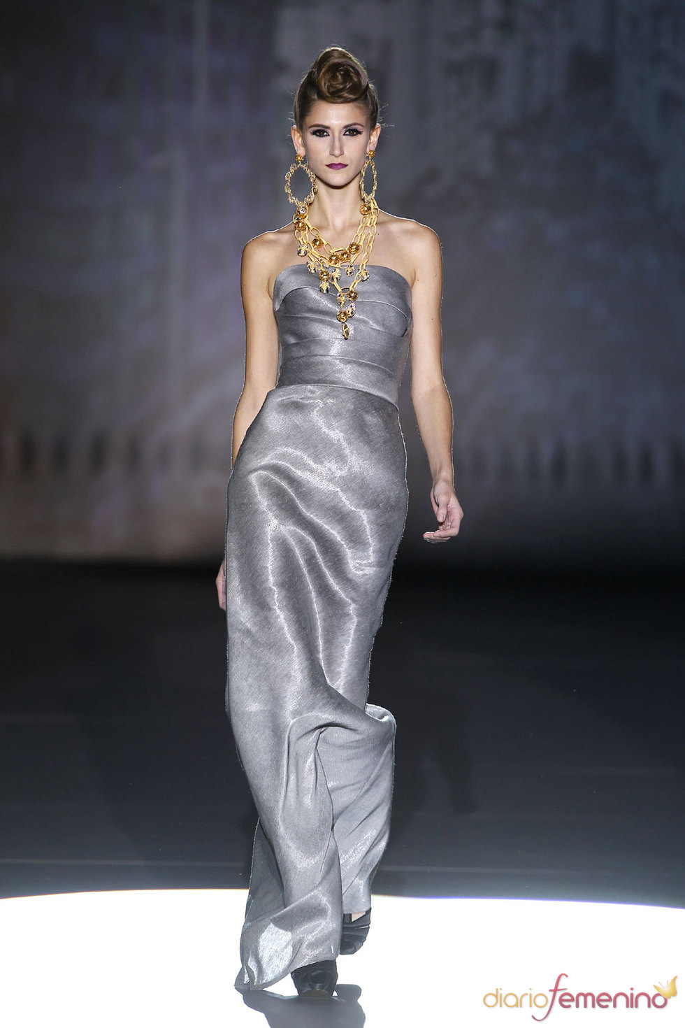 El estilo de Hannibal Laguna en Cibeles Fashion Week