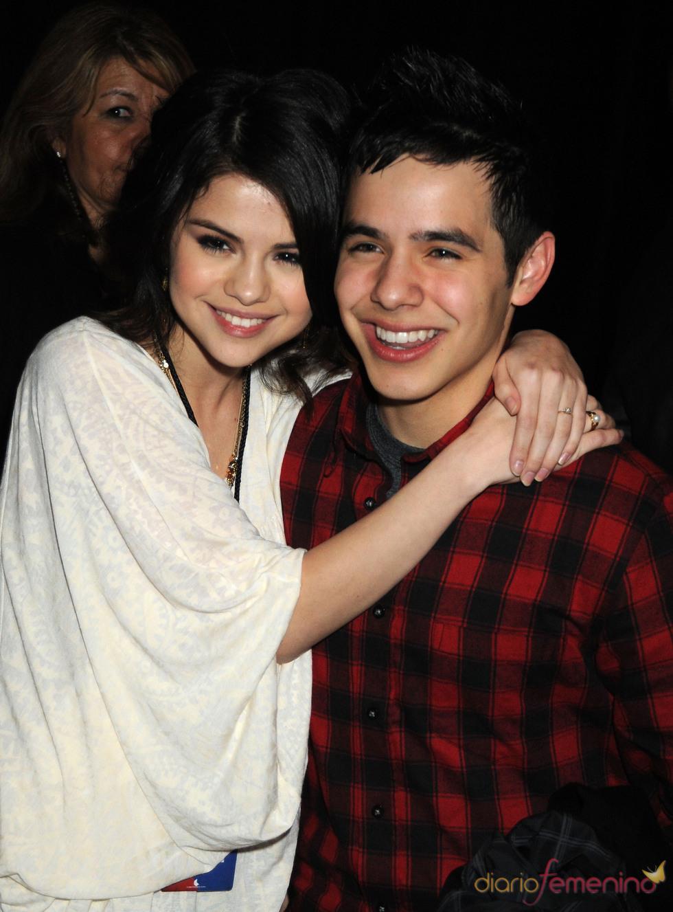 Selena Gomez y David Archuleta