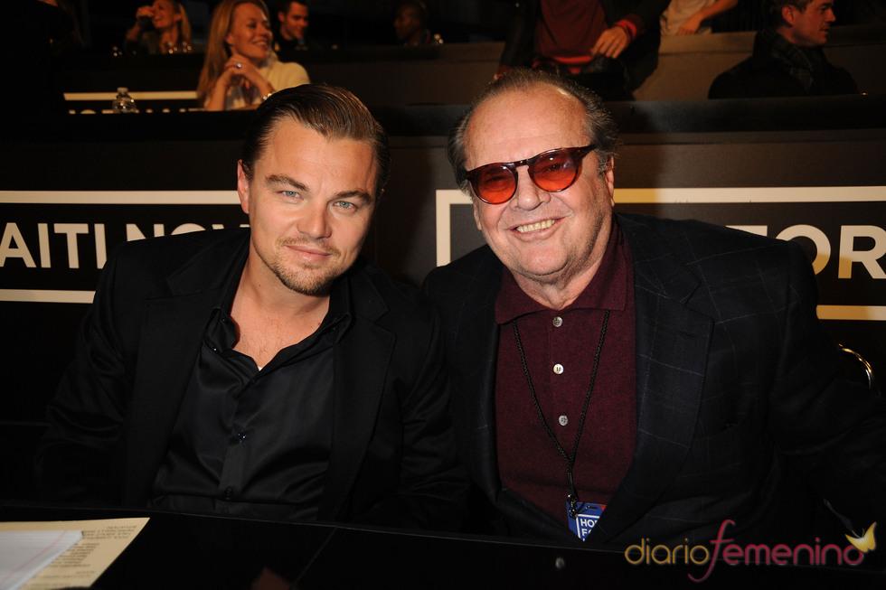 Leonardo DiCaprio y Jack Nicholson