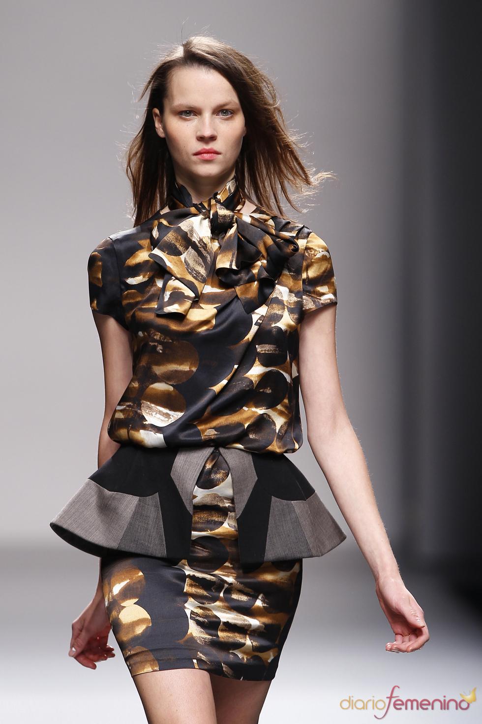 Lydia Delgado en Cibeles Madrid Fashion Week 2010