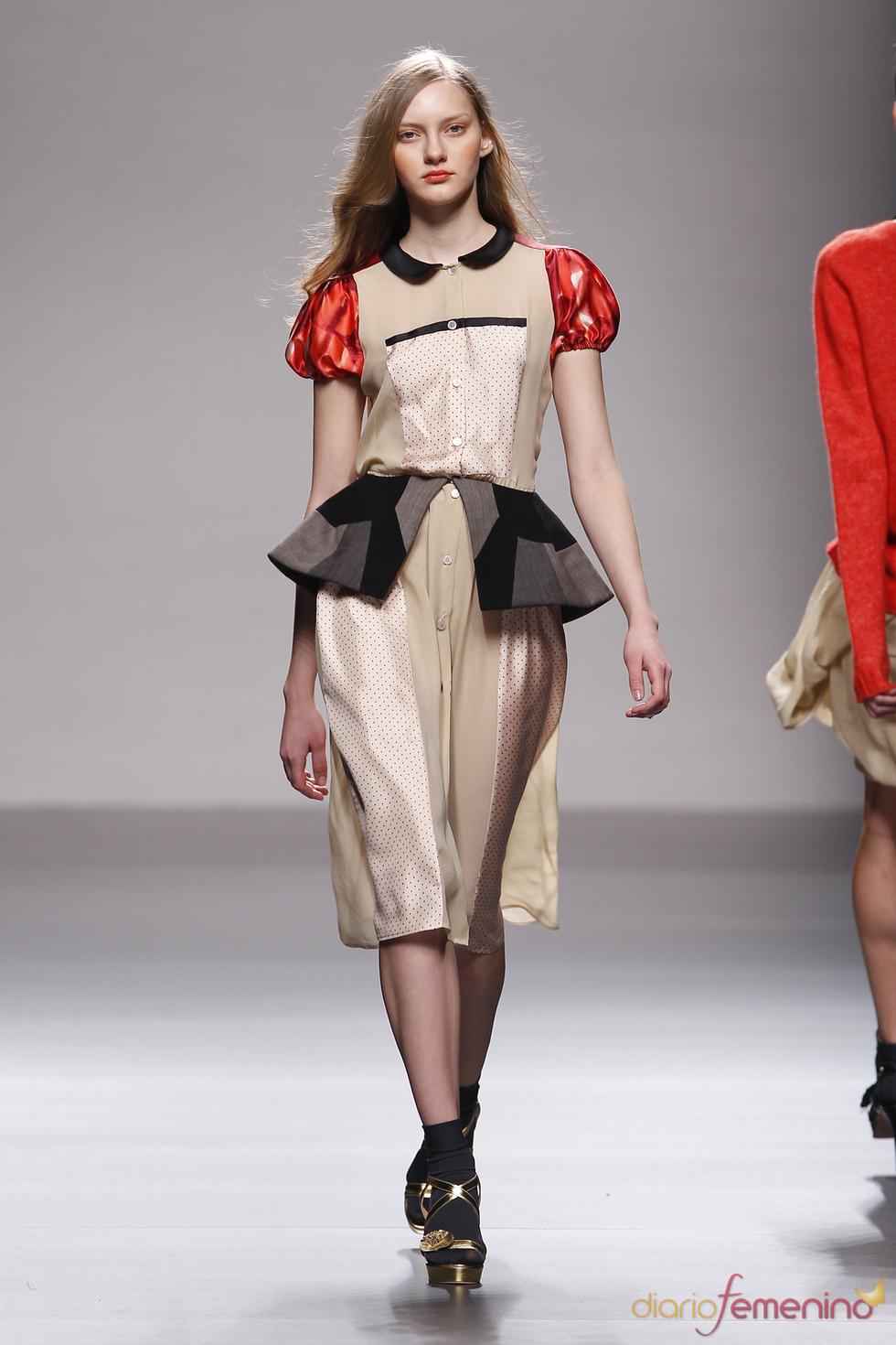 Fotos Moda: Lydia Delgado en Cibeles Madrid Fashion Week 2010