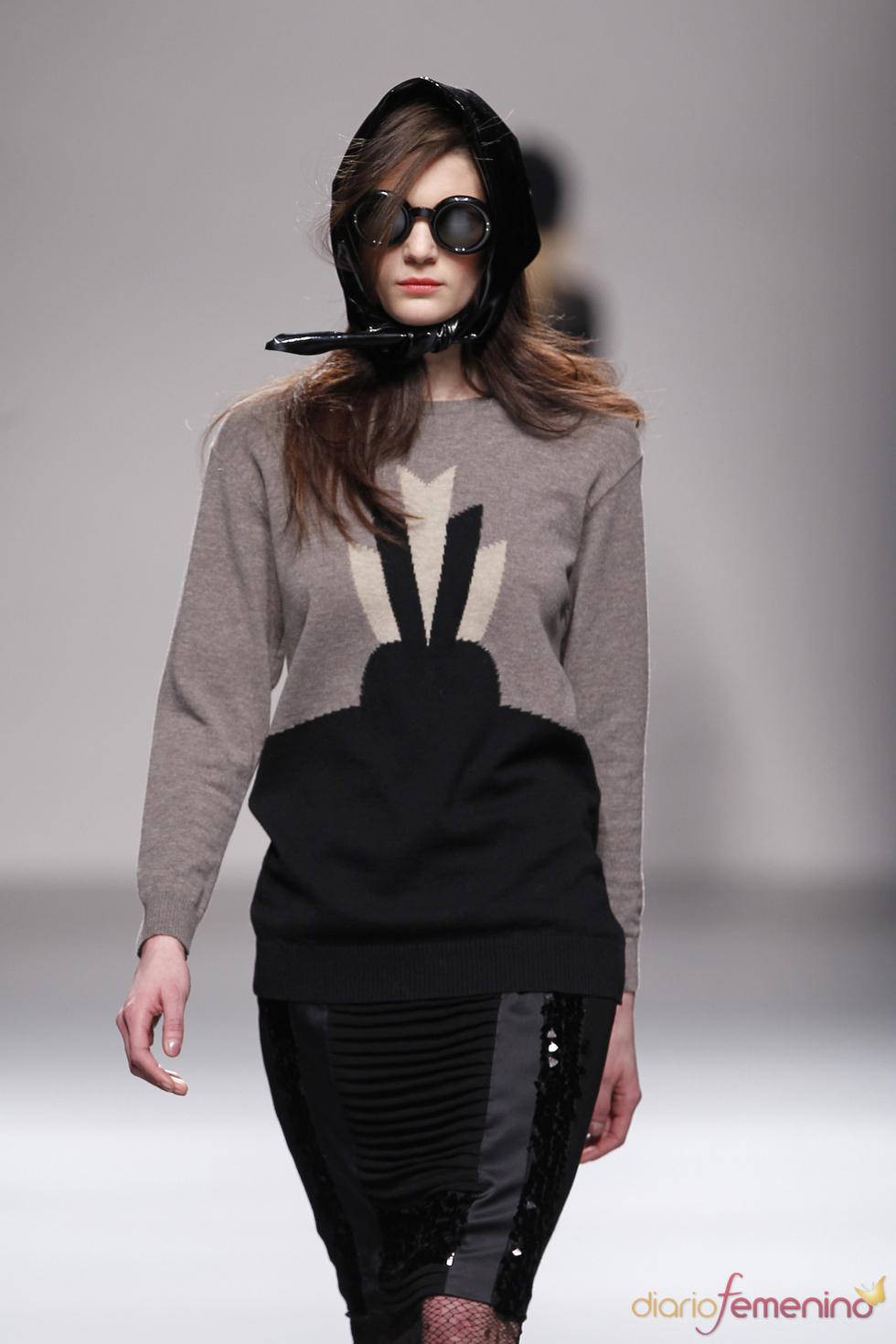 Diseños de Lydia Delgado en Cibeles 2010