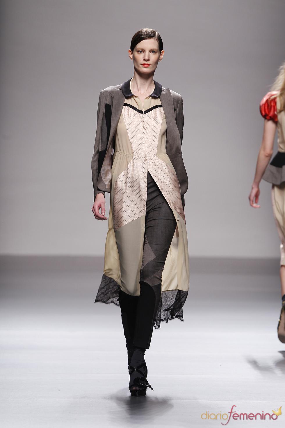 Diseños de Lydia Delgado en Cibeles Madrid Fashion Week