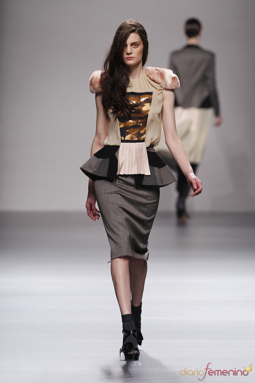 Modelos de Lydia Delgado en Madrid Fashion Week 2010