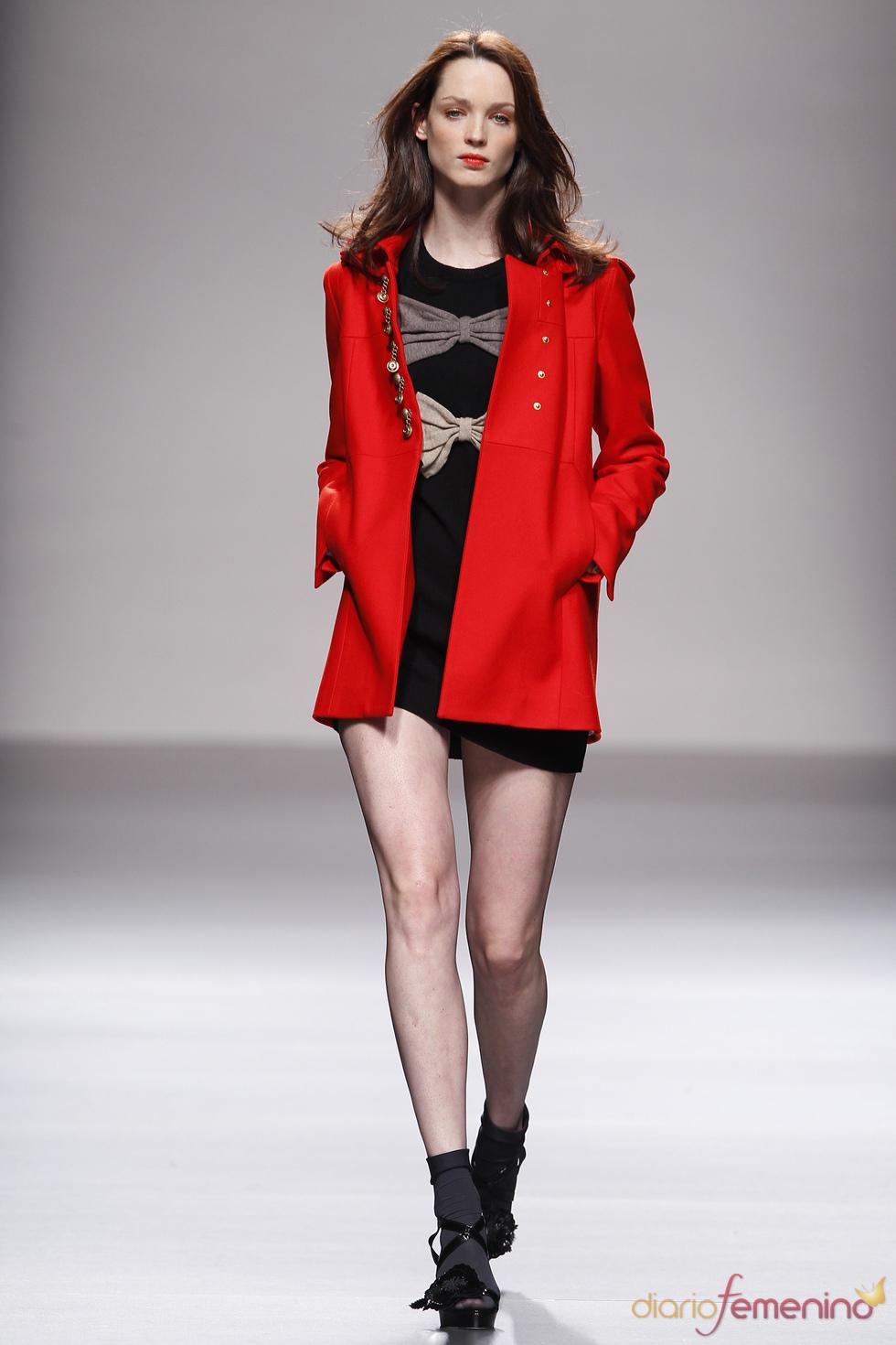 La cita de Lydia Delgado en la Semana de la Moda de Madrid