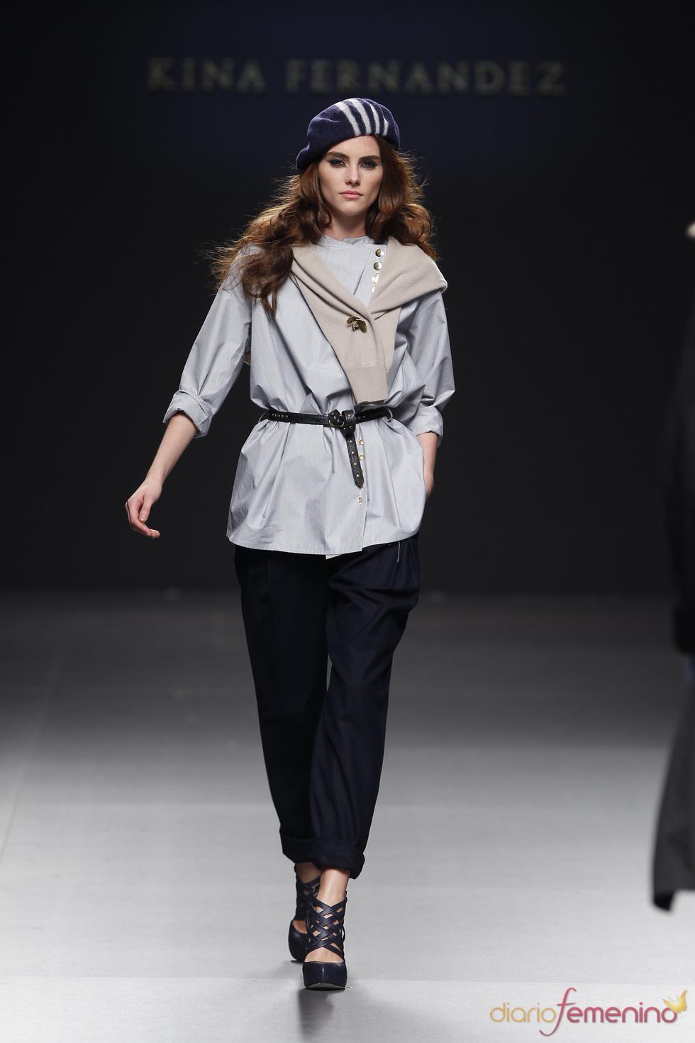 Moda Mujer: Kina Fernández en la pasarela Cibeles