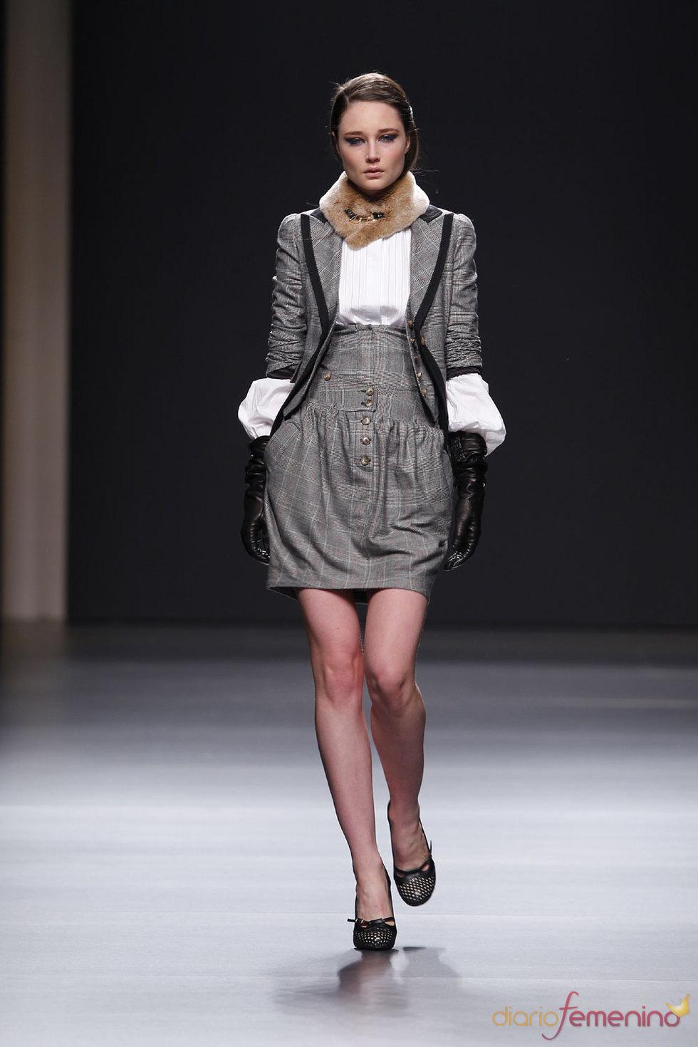 Miriam Ocáriz: Tweed y gales, clásicos de aire masculino