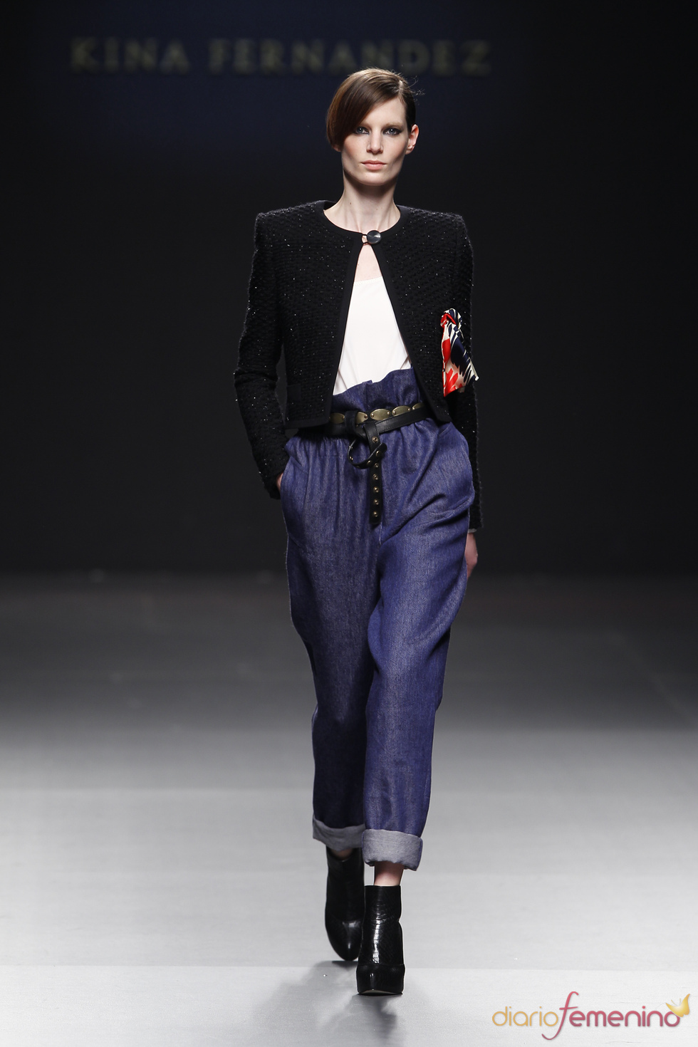 look informal pero sofisticado de Kina Fernández