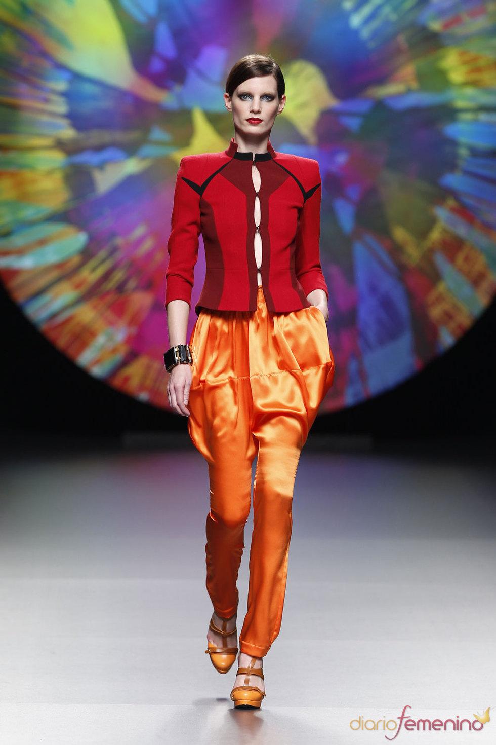 Los colores de Ana Locking - Cibeles 2010