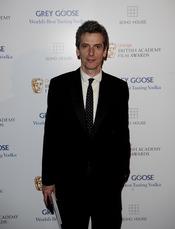 Peter Capaldi en los BAFTA 2010