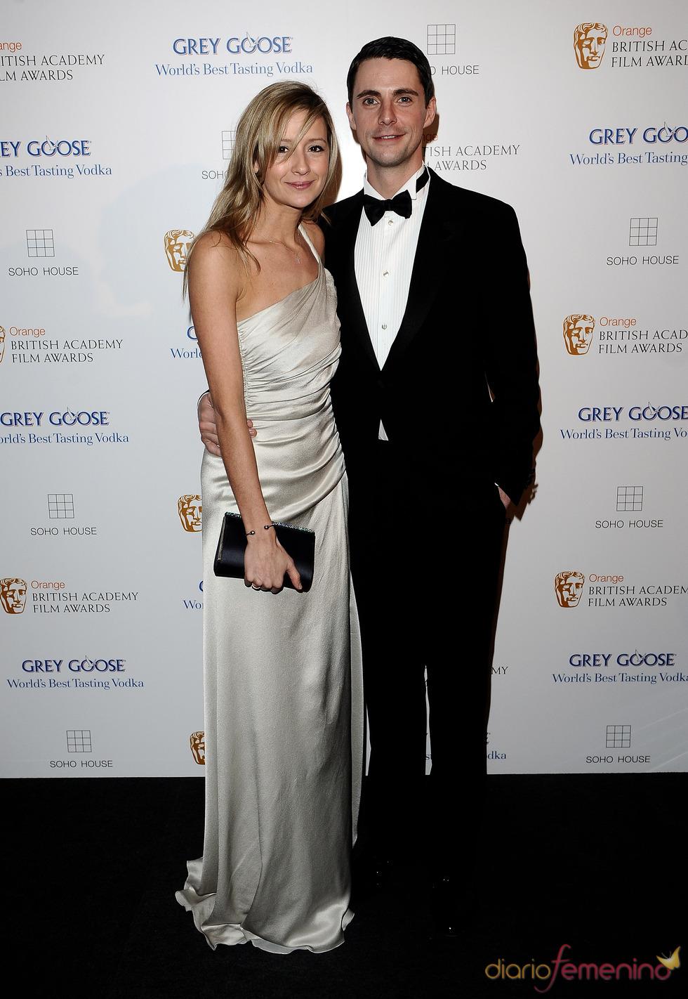 Matthew Goode en los BAFTA 2010