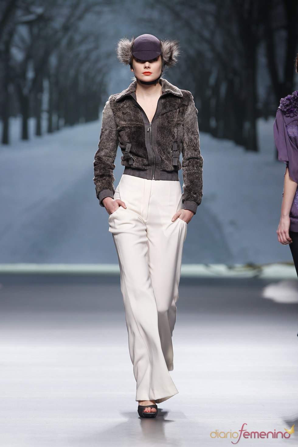 Alma Aguilar en Cibeles Madrid Fashion Week