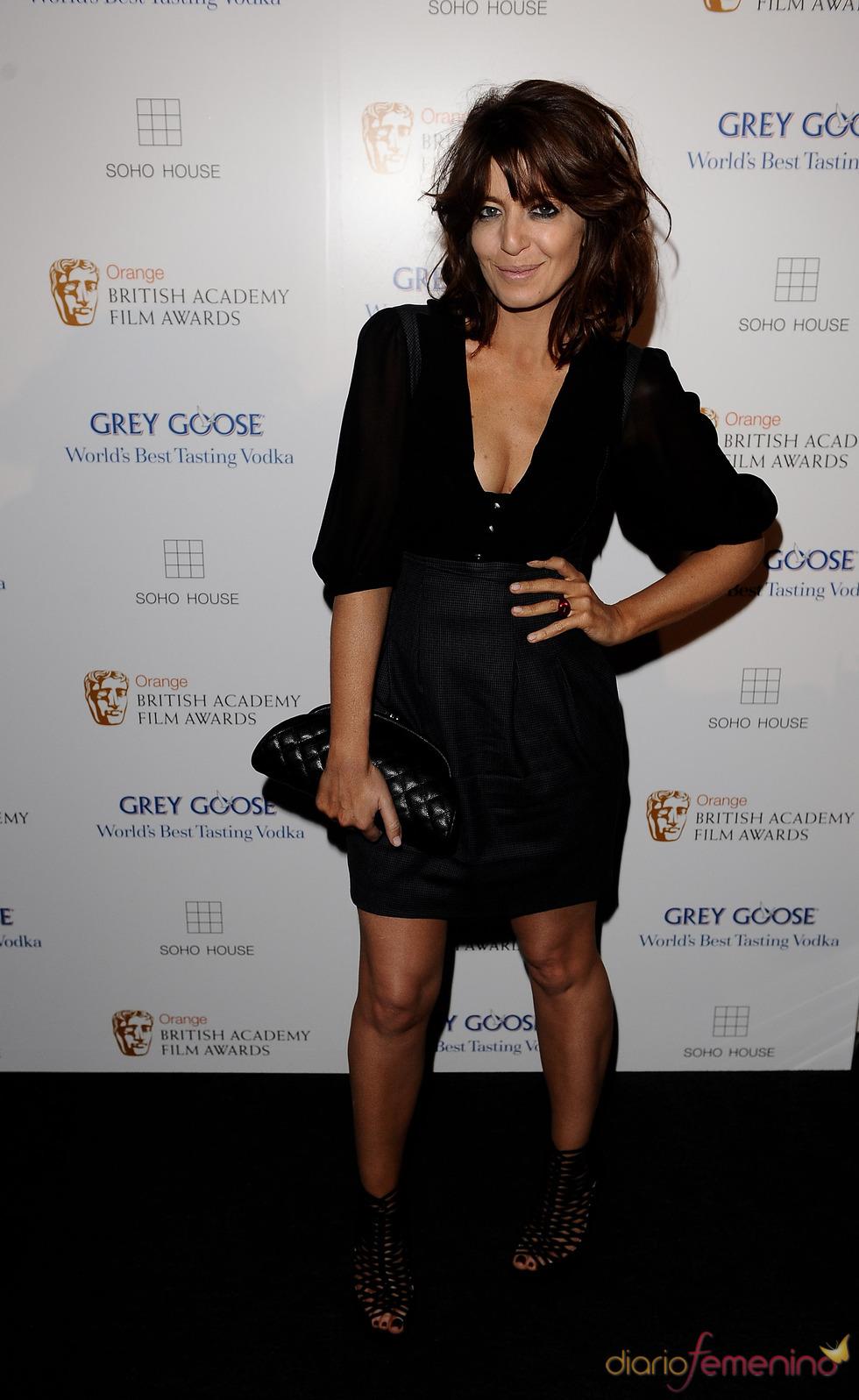 Claudia Winkleman en los BAFTA 2010