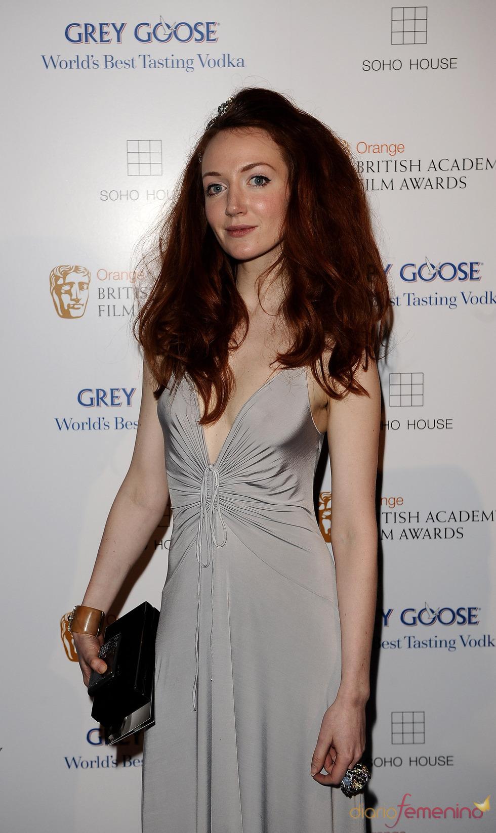 Olivia Grant en los BAFTA 2010