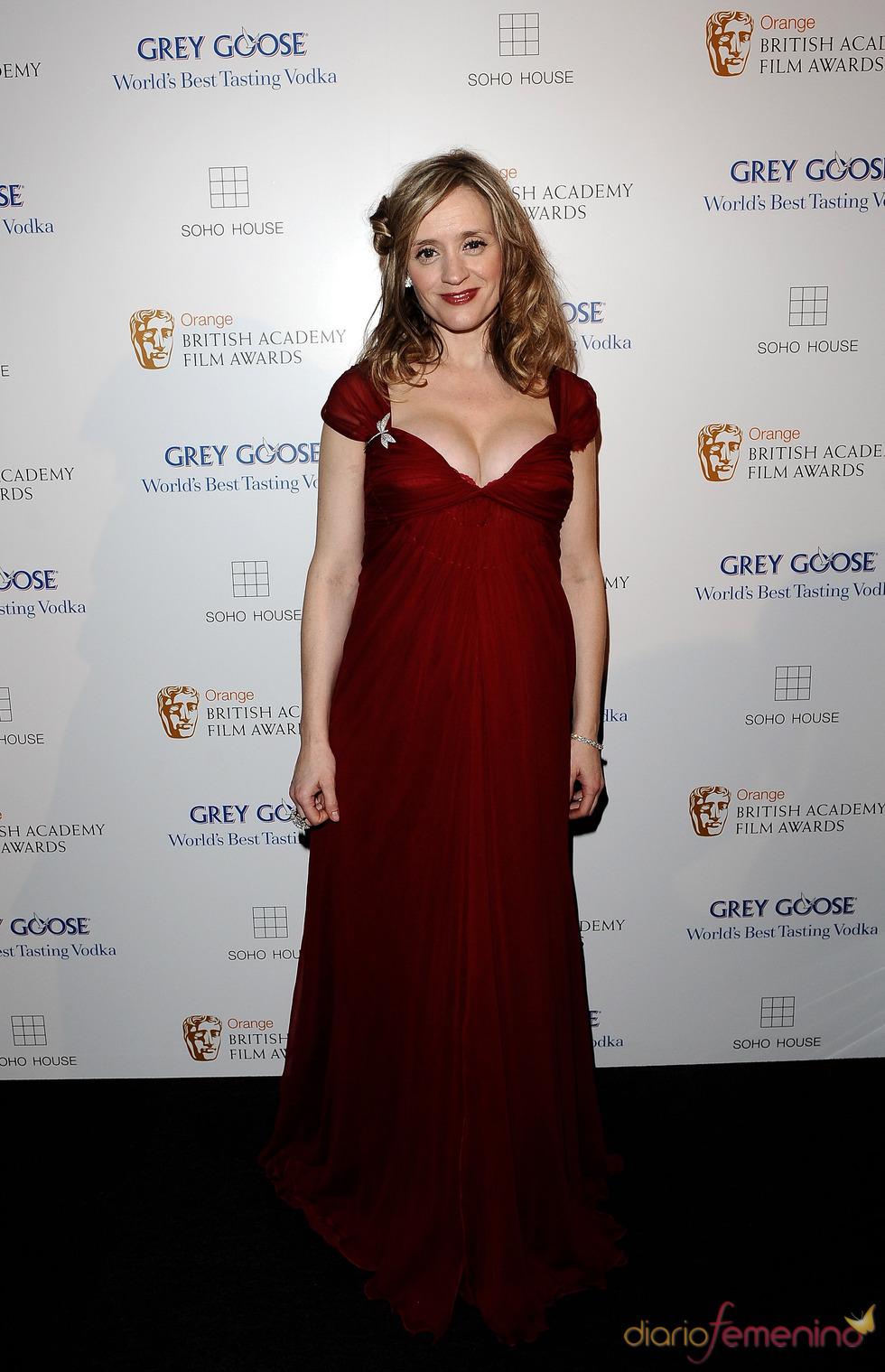 Anne-Marie Duff en los BAFTA 2010
