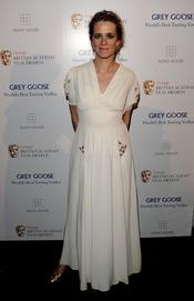 Edith Bowman en los BAFTA 2010