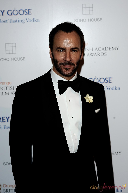Tom Ford en los BAFTA 2010