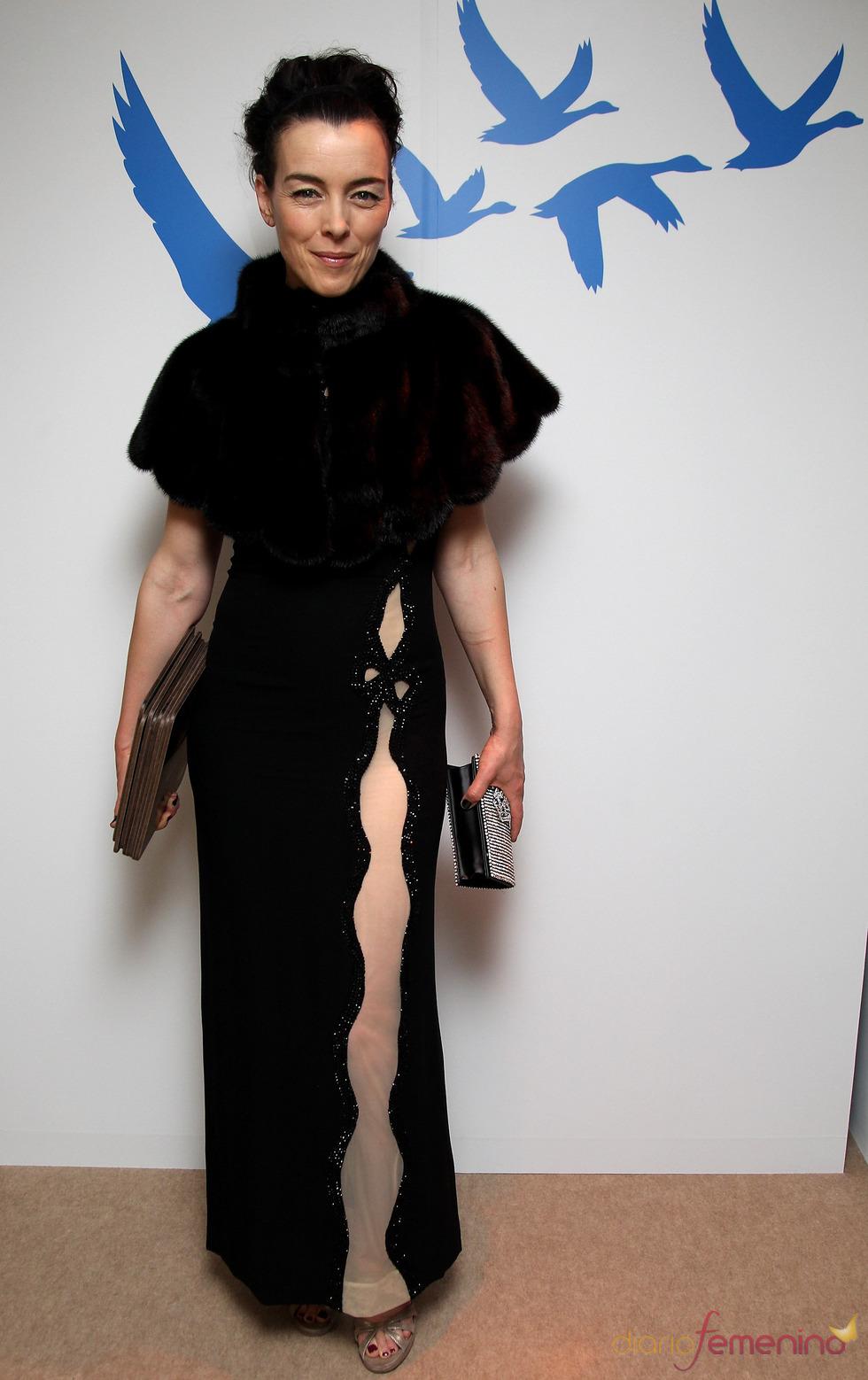 Olivia Williams en los BAFTA 2010