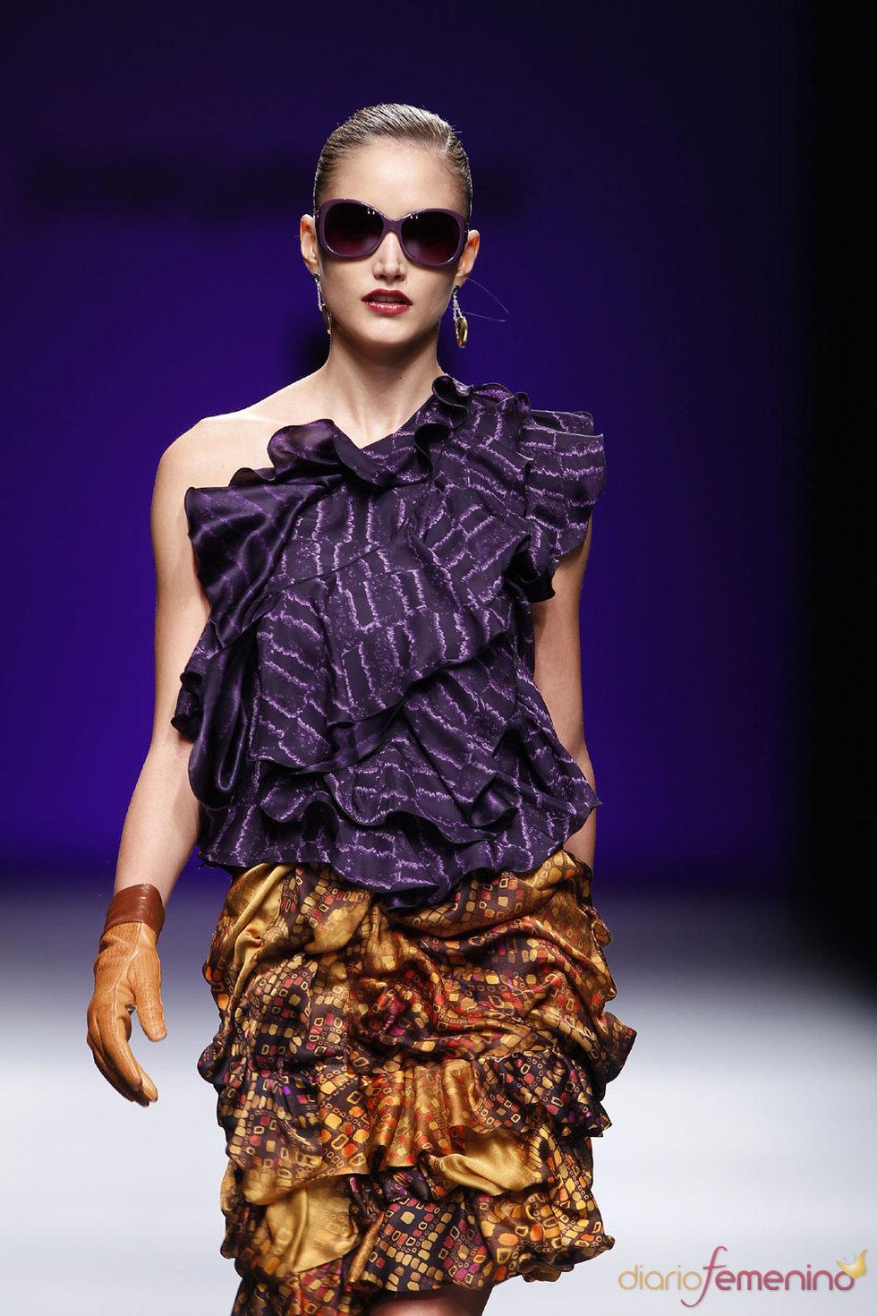 Nueva colección Javier Larrainzar 2010-2011