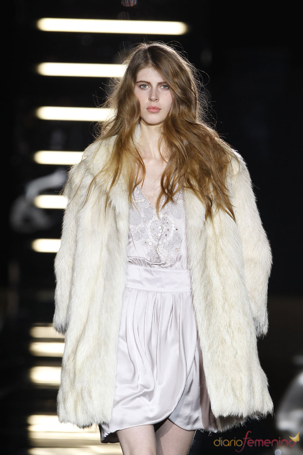 Abrigo de piel de Sita Murt - Cibeles Madrid Fashion Week 2010