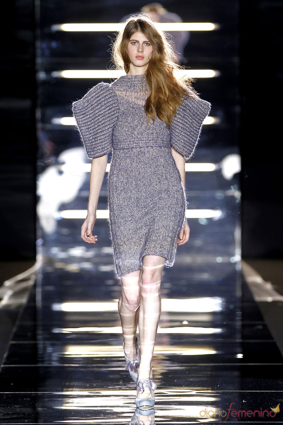 Conjunto de tricot de Sita Murt - Pasarela Cibeles 2010