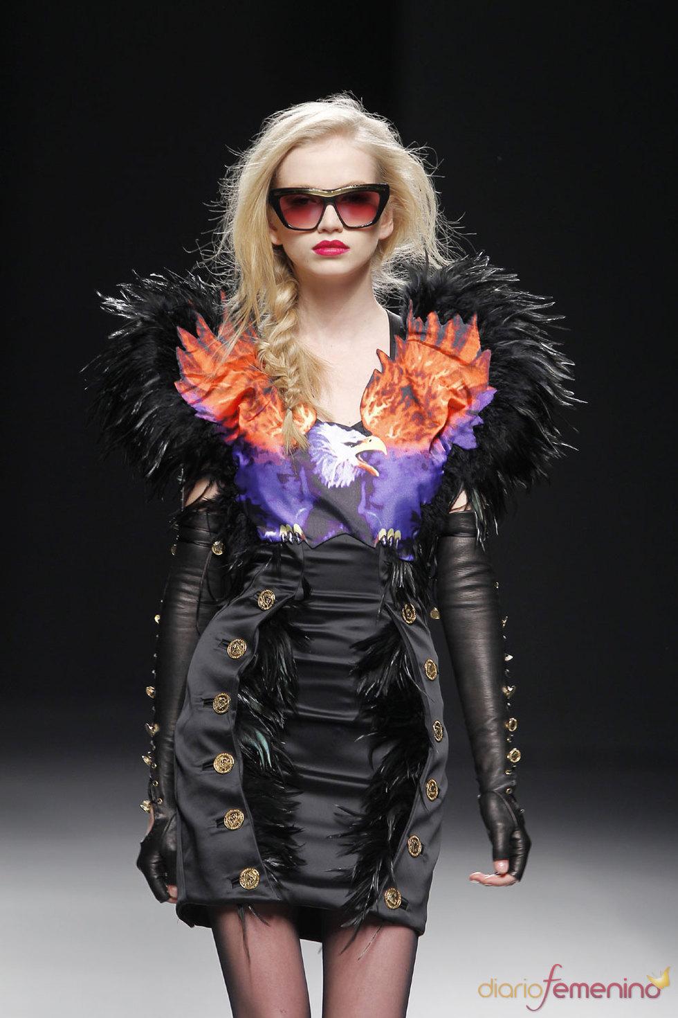 María Escoté - Cibeles Fashion Week Otoño Invierno 2010 - 2011
