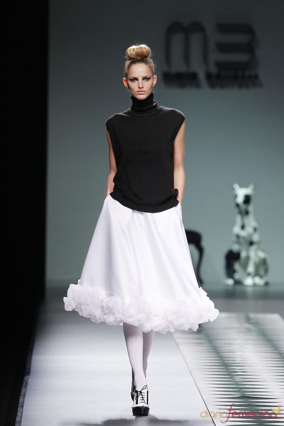 Colección de la diseñadora María Barros para el Otoño Invierno 2010-2011