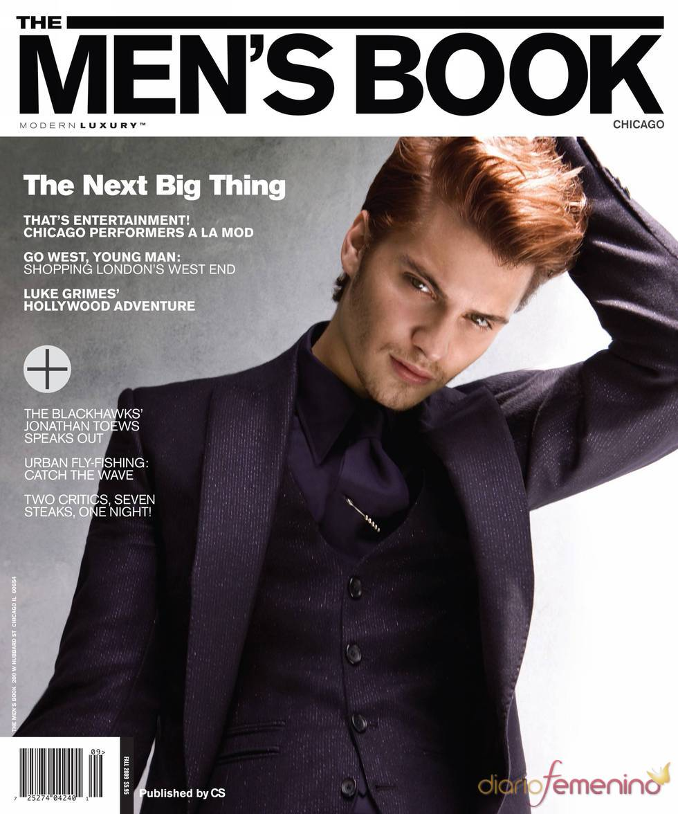 Luke Grimes con The Men's Book