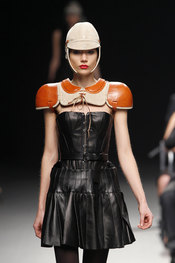 Colección de Nicolás Vaudelet en Cibeles Fashion Week 2010