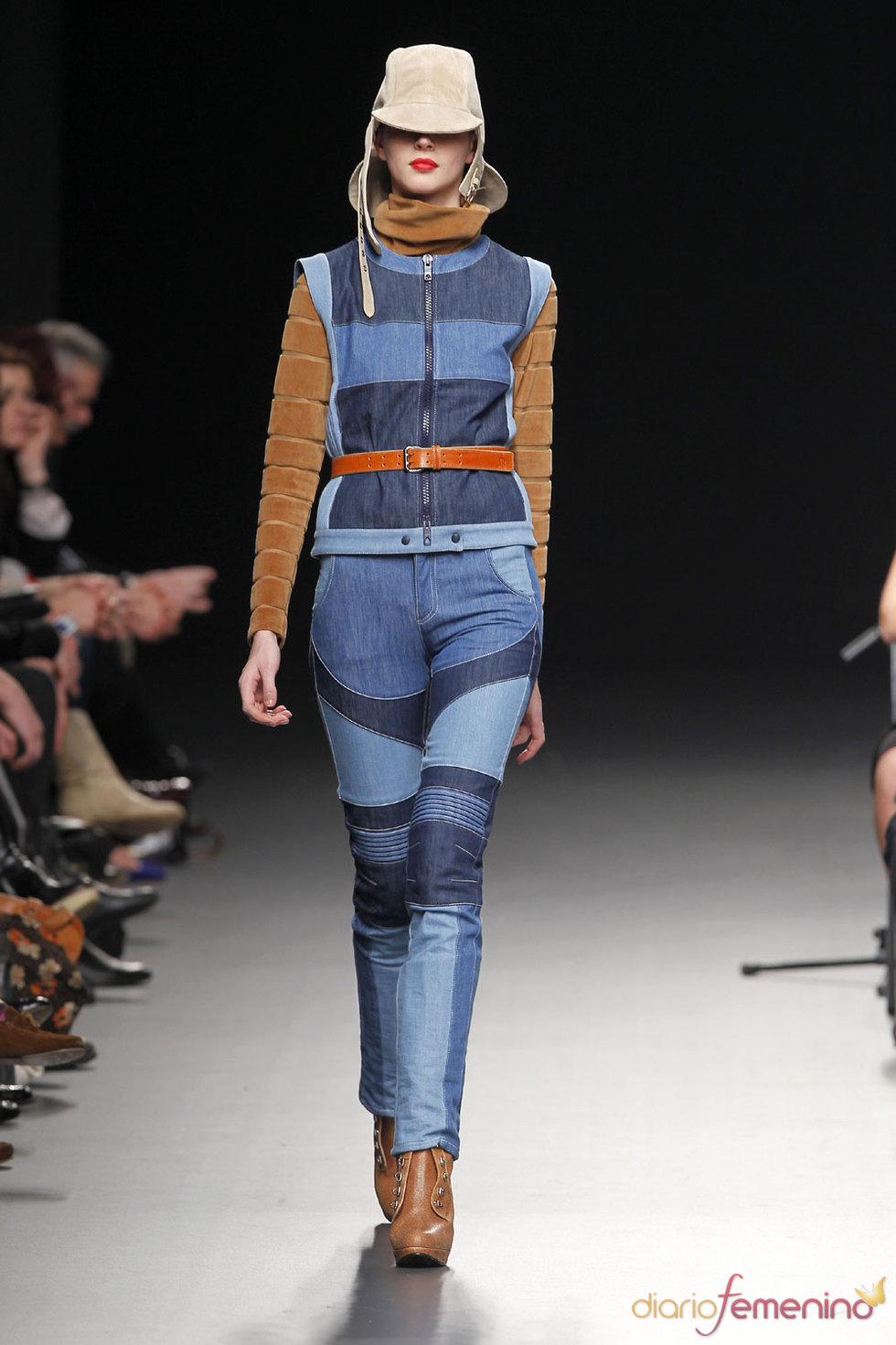 Conjunto vaquero - 'El Caballo' en Cibeles Fashion Week 2010
