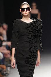 La diseñadora Juana Martín - Pasarela Cibeles 2010