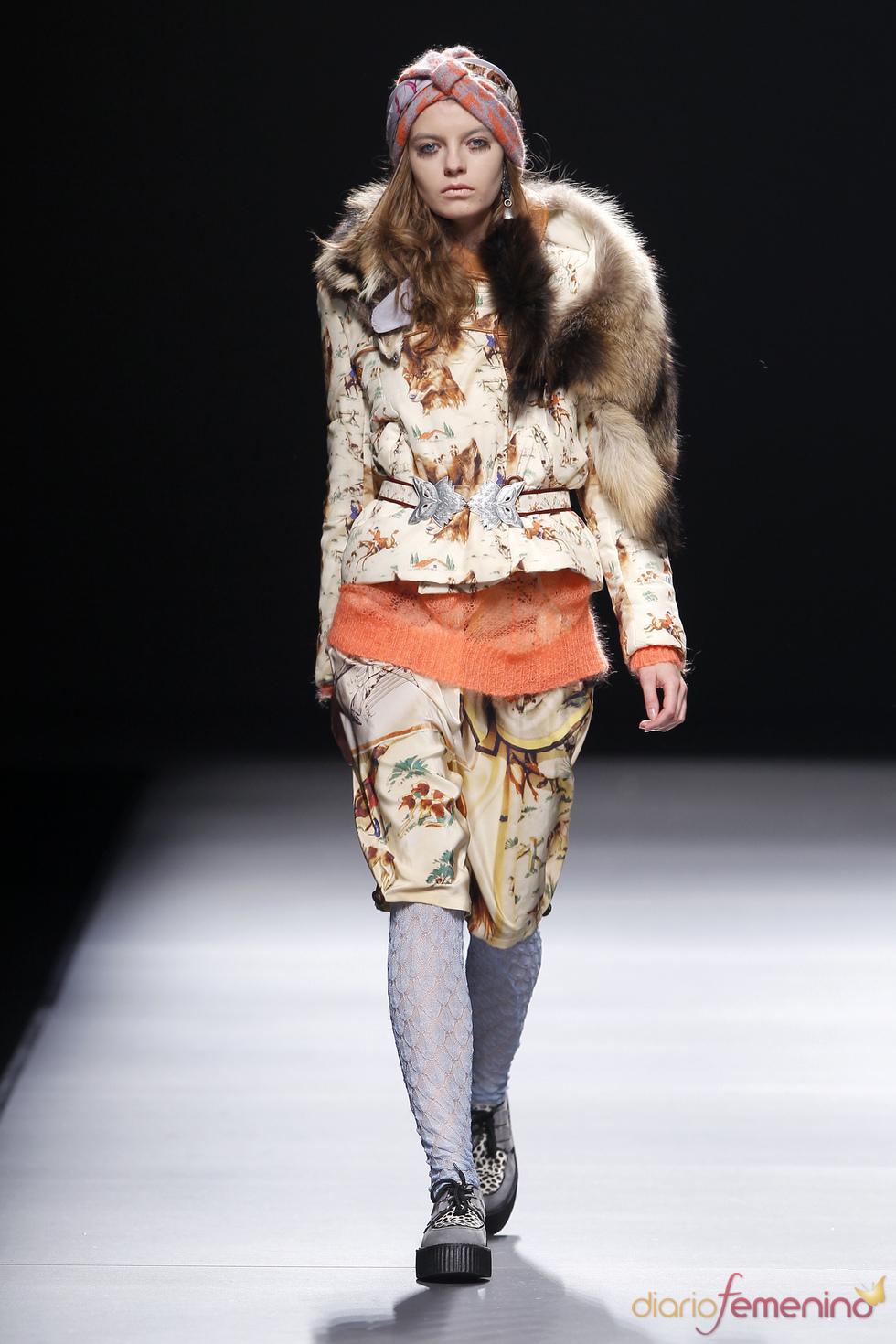 Modelos de El Delgado Buil en la Semana de la Moda