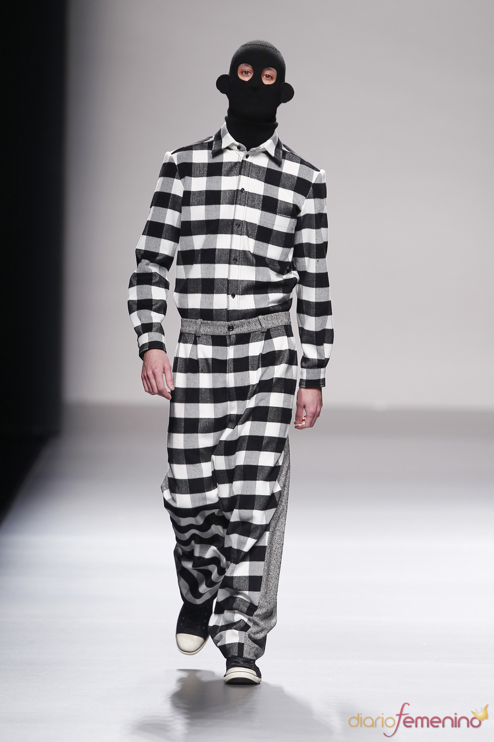 Desfile de Carlos Diez en Cibeles Madrid Fashion Week