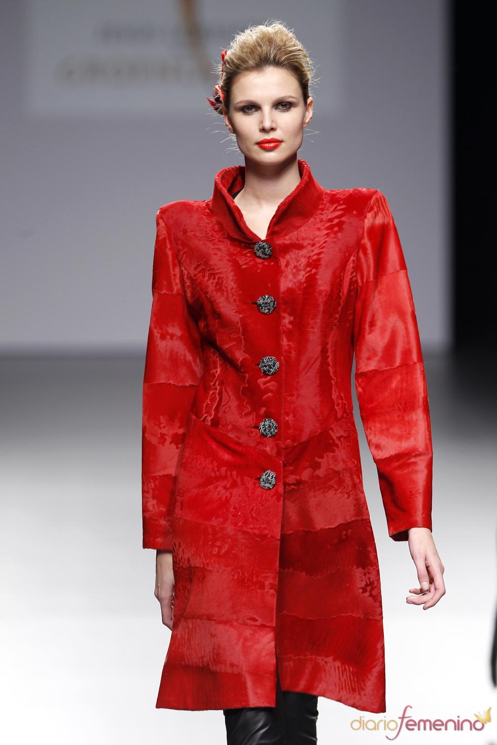 Abrigo rojo de Jesús Lorenzo