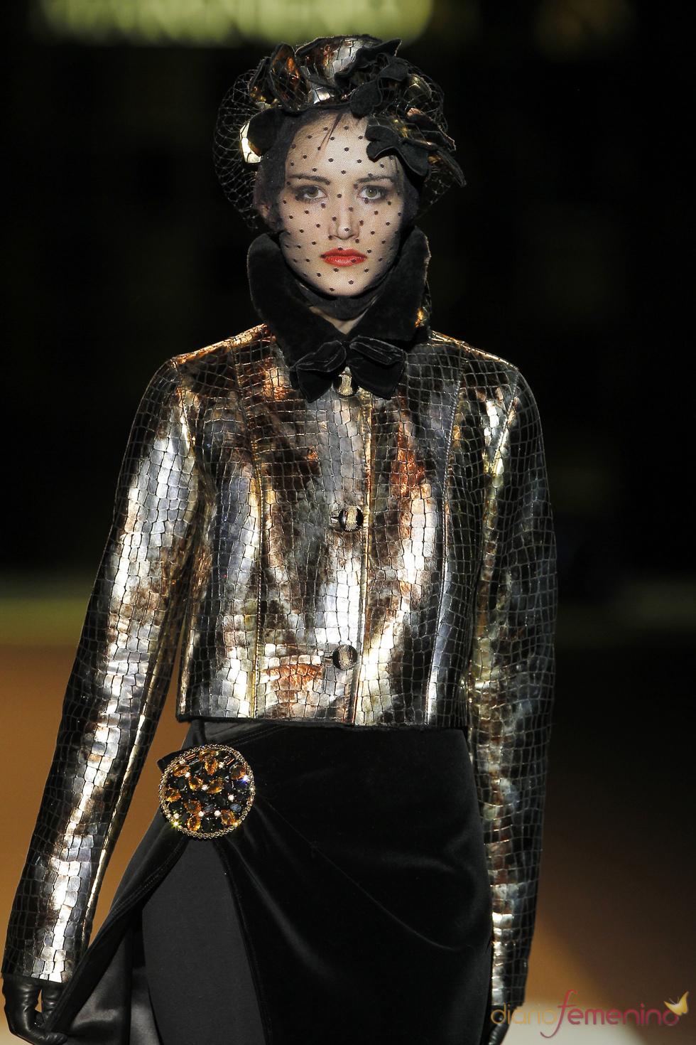 Desfile de Miguel Marinero en Cibeles Madrid Fashion Week