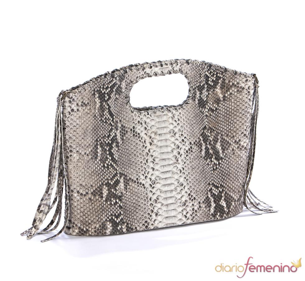 Look Baño: bolso de serpiente