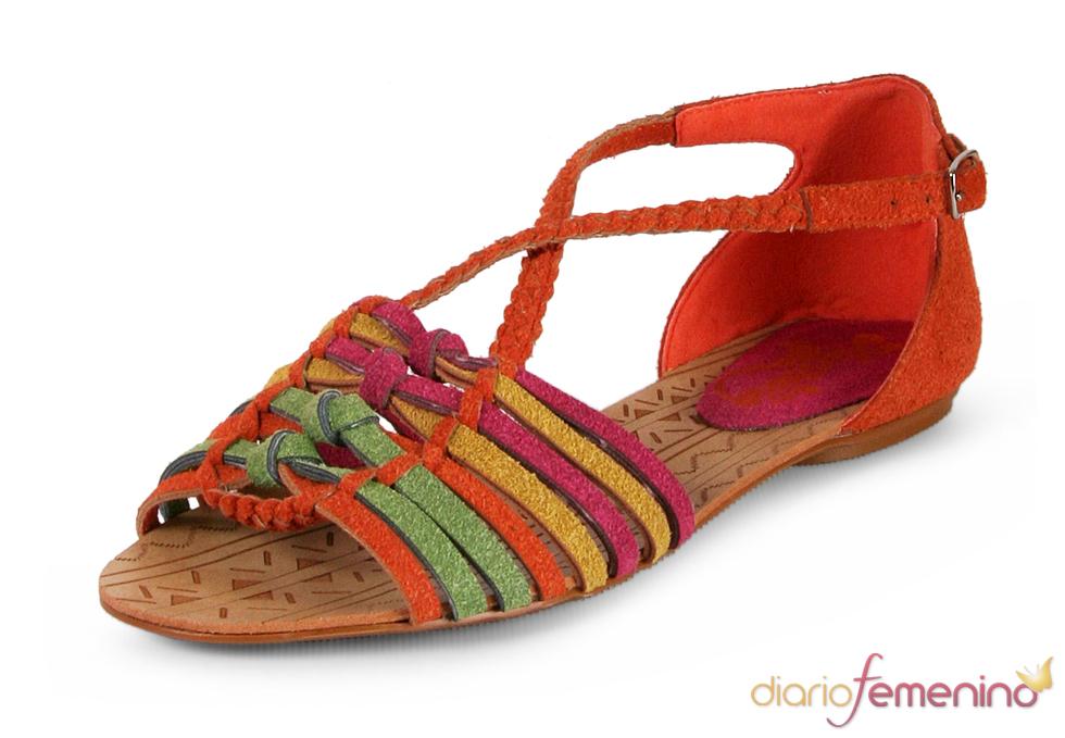 Look Baño: sandalias vivas
