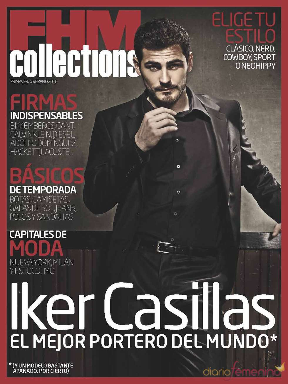 Iker Casillas en FHM