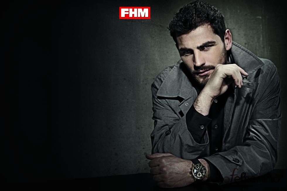 Iker Casillas posa para FHM