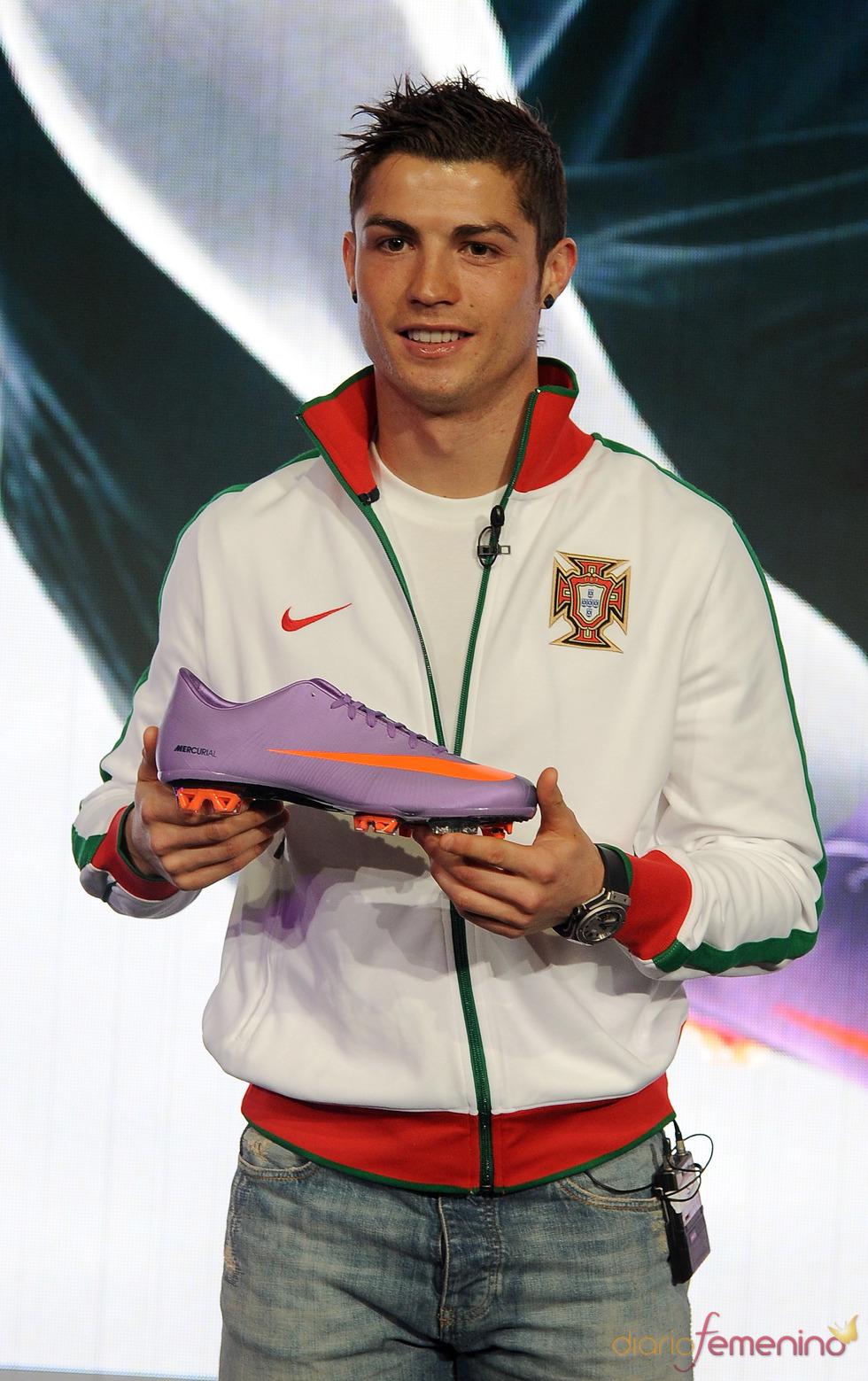 Cristiano Ronaldo con Nike
