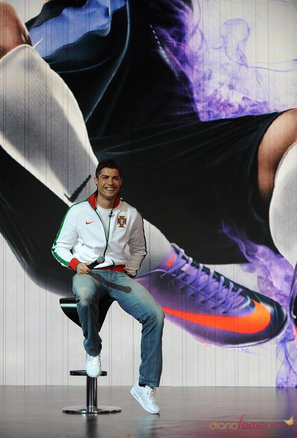 Ronaldo, con la marca Nike