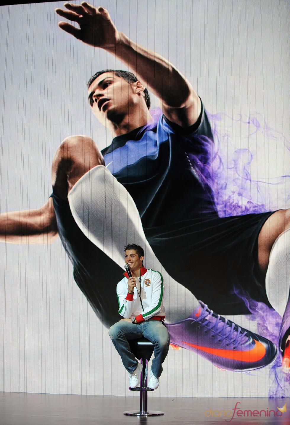 Cristiano Ronaldo, imagen de Nike