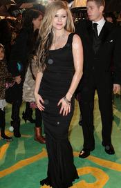 Avril Lavigne en la première de 'Alice'