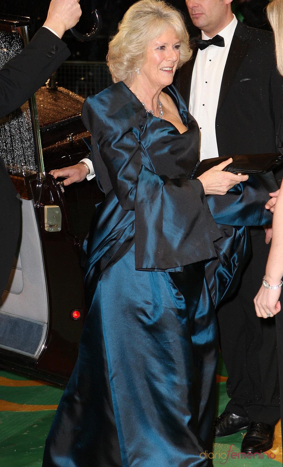 Camilla Parker Bowles en la première de 'Alice'