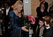 Camilla Parker Bowles con los niños