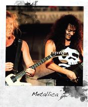 Worn By: camiseta de Metallica